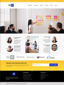 Website học viện