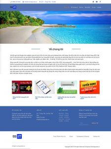 website thiết bị môi trường